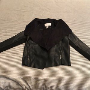 Bar III from Macy's faux leather/suede jacket